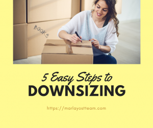 5 Easy Steps to Downsizing Senior Mansfied Arlington Texas