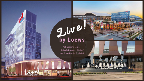Live by Loews Pyramid Shaped Luxury Hotel in Arlington Texas August 2019 Grand Opening